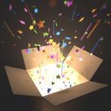 Surprise Box royalty free illustration