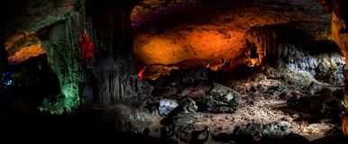 Surprise cave royalty free stock images