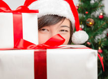 Surprise for Christmas! Stock Photography