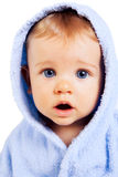 Surprise Concept - Baby Boy With Funny Amazed Face Royalty Free Stock Photo