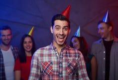 Surprise d'anniversaire photos stock