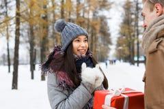 Surprise d'hiver Image stock
