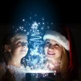 Surprise de Noël Image libre de droits