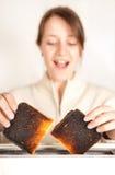 Surprise de pain grillé Photographie stock libre de droits