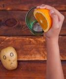 Surprise de pomme de terre images stock