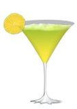 Surprise de vert de cocktail illustration libre de droits