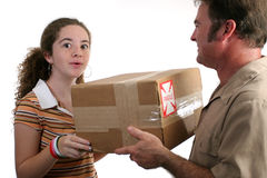 Surprise Delivery Royalty Free Stock Image