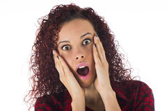 Surprise expression Stock Photos