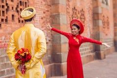 Surprise foe fiance Royalty Free Stock Photos