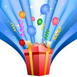 Surprise gift Royalty Free Stock Image