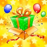 Surprise gift Stock Photo