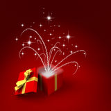 Surprise gift Royalty Free Stock Images