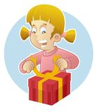 Surprise gift Royalty Free Stock Photo