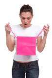 Surprise gift Stock Images