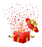 Surprise Gift Box Royalty Free Stock Images