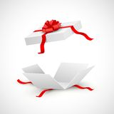 Surprise Gift Box. Illustration of open gift box surprise Stock Photos