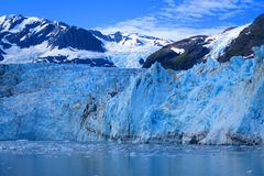 Surprise Glacier in Blue royalty free stock images