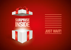 Surprise Inside royalty free illustration