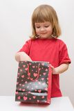 Surprise for kids Stock Photo