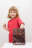 Surprise for kids Royalty Free Stock Photography