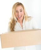 Surprise parcel Stock Image