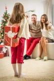 Surprise For Parents Stock Photos