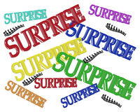 Surprise Party Birthday invitation Stock Photos