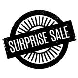 Surprise Sale rubber stamp Stock Photography