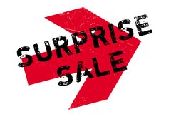 Surprise Sale rubber stamp Royalty Free Stock Photography
