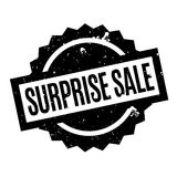 Surprise Sale rubber stamp. Grunge design with dust scratches. Effects can be easily removed for a clean, crisp look. Color is easily changed Stock Photo