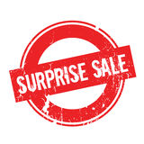 Surprise Sale rubber stamp. Grunge design with dust scratches. Effects can be easily removed for a clean, crisp look. Color is easily changed Royalty Free Stock Image