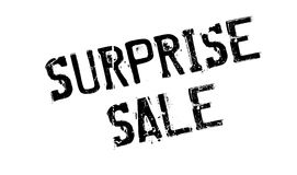 Surprise Sale rubber stamp. Grunge design with dust scratches. Effects can be easily removed for a clean, crisp look. Color is easily changed Royalty Free Stock Photos