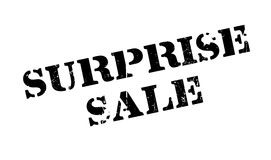 Surprise Sale rubber stamp. Grunge design with dust scratches. Effects can be easily removed for a clean, crisp look. Color is easily changed Stock Photography