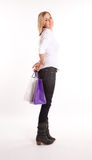 Surprise shopping Stock Images