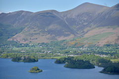 Surprise View above Derwentwater Royalty Free Stock Images