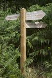 Surprise View Signpost, Keswick; Lake District Royalty Free Stock Photo