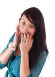 Surprise woman Stock Photo