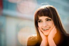 Surprise - woman portrait Stock Image