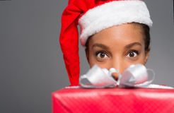 Surprise for X-mas Stock Photo