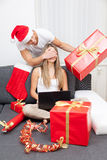 Surprise your partner with the perfect present Royalty Free Stock Image