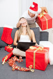 Surprise your partner with the perfect present Royalty Free Stock Images
