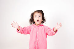 Surprised Asian girl Stock Images