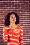 Surprised attractive young woman Royalty Free Stock Image