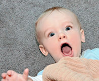 Surprised Baby Stock Images