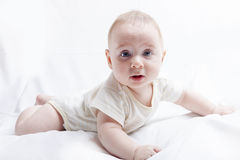 Surprised Baby Boy Royalty Free Stock Image