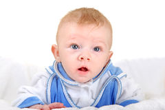 Surprised Baby Boy Stock Photos