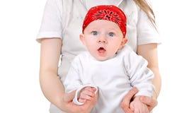 Surprised Baby Boy Stock Photos