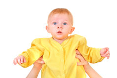 Surprised Baby Boy Stock Photography
