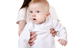 Surprised Baby Boy Stock Images