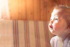 Surprised baby Stock Photos